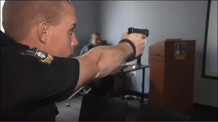 New Tool Gives Waterville Officers a Better Shot at Firearm Training